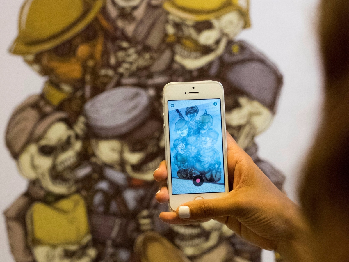 Augmented Reality art in Danang