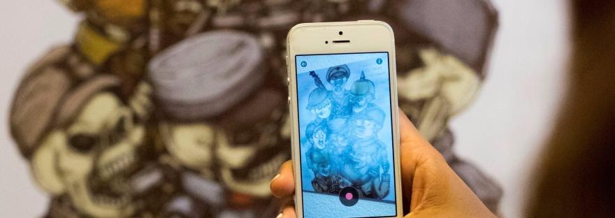 Augmented Reality art in Danang